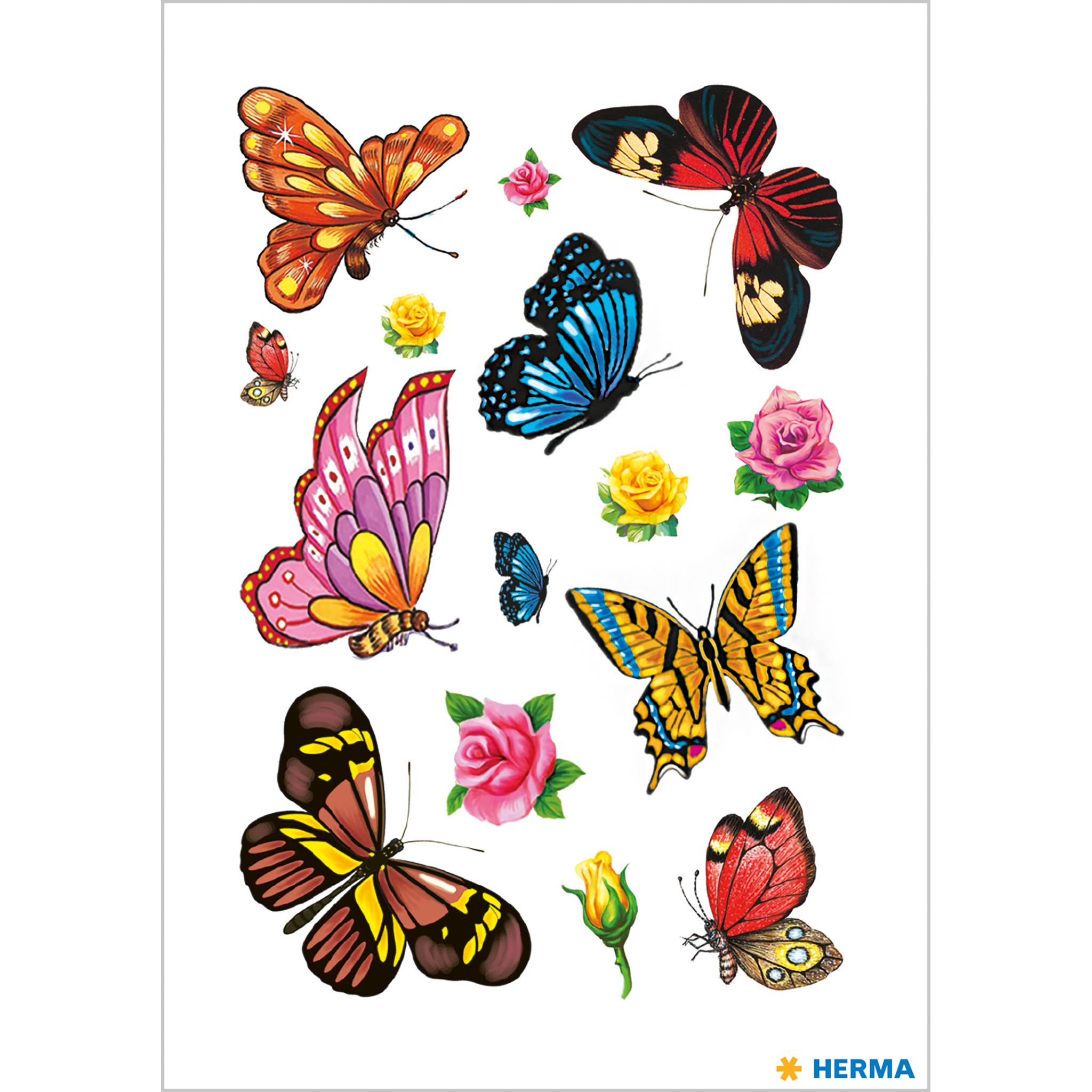 Tattoos Colour Art Schmetterlinge 1Bl.